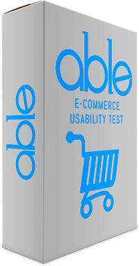 e-Commerce Usability Test